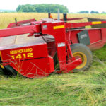 Farm Equipment Fridays: Cutting hay