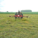 Farm Equipment Fridays: Tedding hay