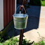 Buckets of fun on the farm