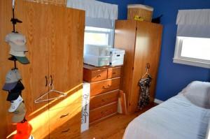 blue bedroom before