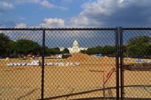 construction at the capitol