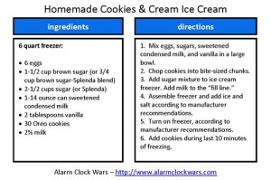 cookies and cream 6 quart