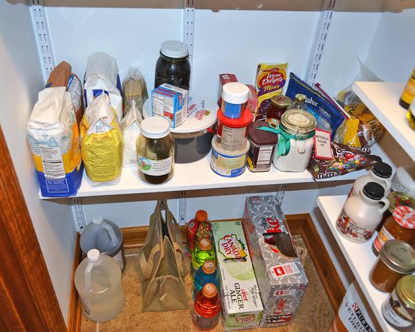 organized pantry more baking supplies