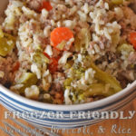 Freezer-Friendly Sausage, Broccoli, and Rice