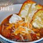 Crockpot pumpkin chili