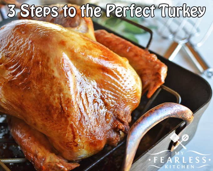 3 Steps To The Perfect Turkey My Fearless Kitchen