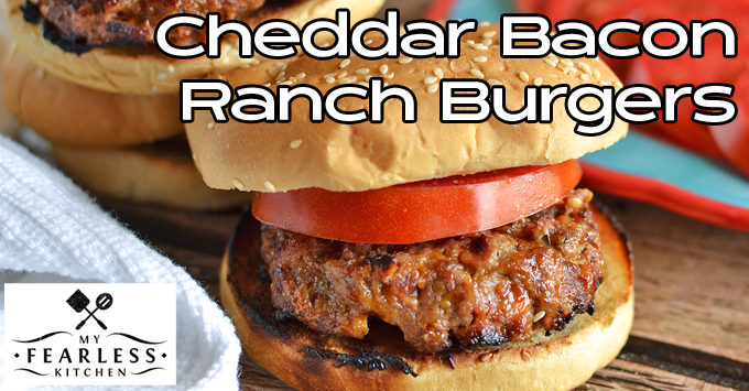 cheddar bacon ranch burgers featured
