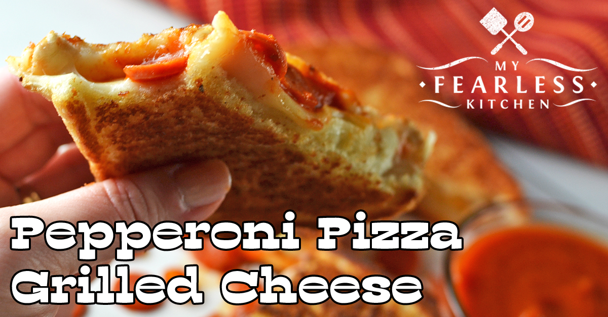 pizza grilled cheese pepperoni pizza grilled cheese my fearless kitchen 30864