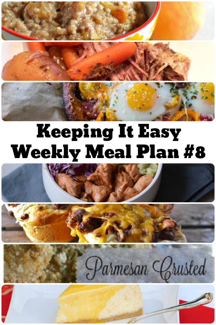 Weekly meal plan for lwinter