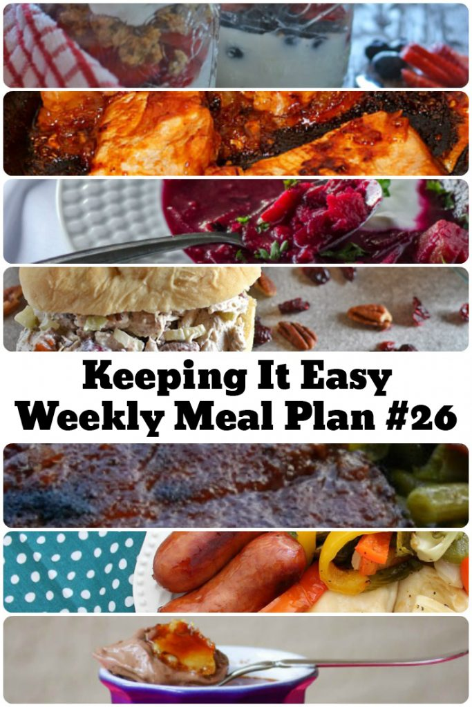 Menu Plan Ideas for the week! Meal plan ideas for summer.